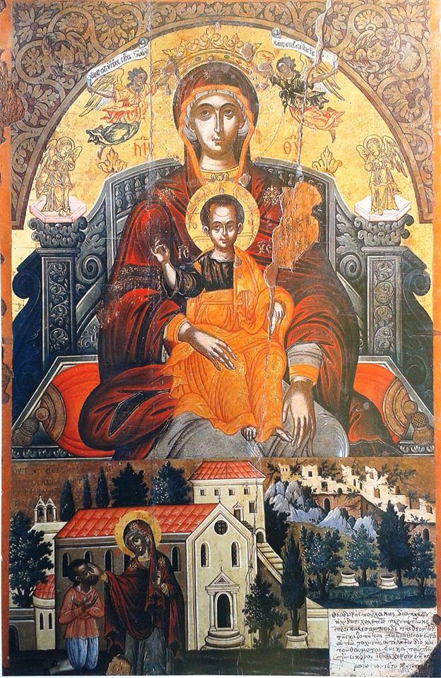 Κων/νος Θύμης: «Το θαύμα της Υ. Θεοτόκου Κασσιοπίας στην Κασσιόπη ...