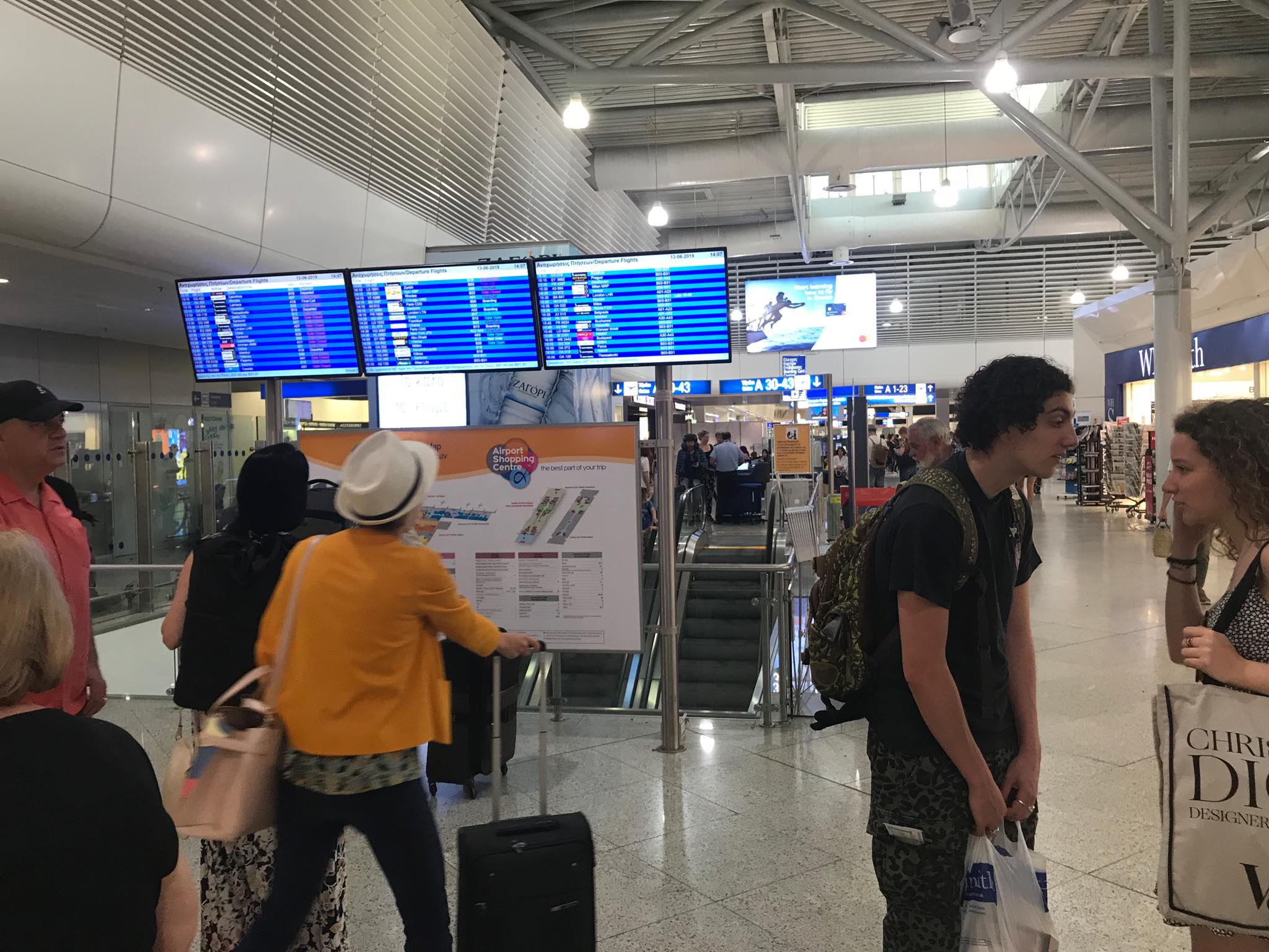 Eurostat – Η Ελλάδα είxε τη μικρότερη μείωση πτήσεων στην ΕΕ σε σύγκριση με το 2019.