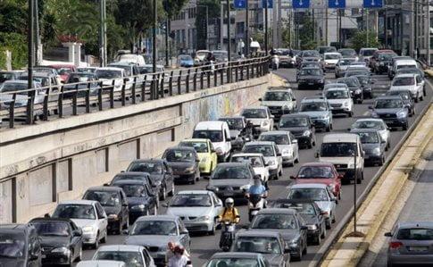Αυξημένη κατά 89% η κυκλοφορία οχημάτων στους δρόμους τη Μεγάλη Εβδομάδα.